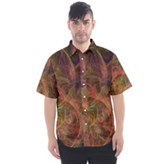 Abstract Colorful Art Design Men s Short Sleeve Shirt