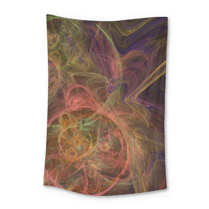 Abstract Colorful Art Design Small Tapestry