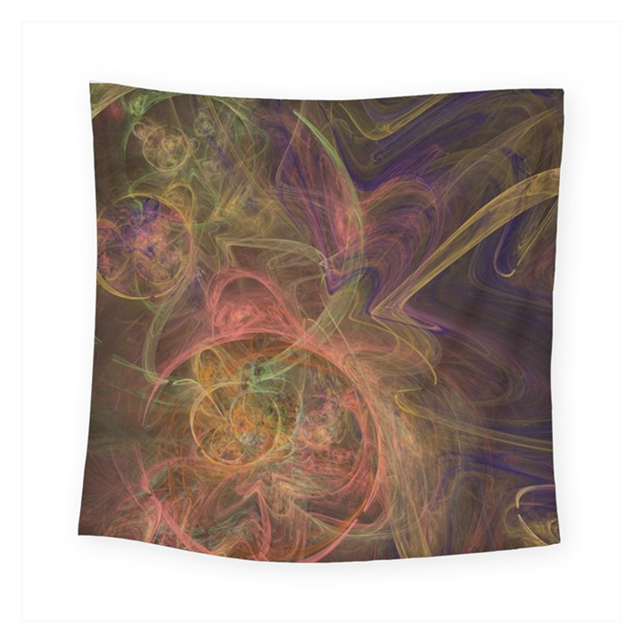 Abstract Colorful Art Design Square Tapestry (Small)