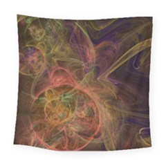 Abstract Colorful Art Design Square Tapestry (large)