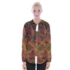Abstract Colorful Art Design Womens Long Sleeve Shirt