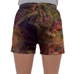 Abstract Colorful Art Design Sleepwear Shorts