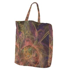 Abstract Colorful Art Design Giant Grocery Tote