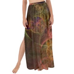 Abstract Colorful Art Design Maxi Chiffon Tie Up Sarong