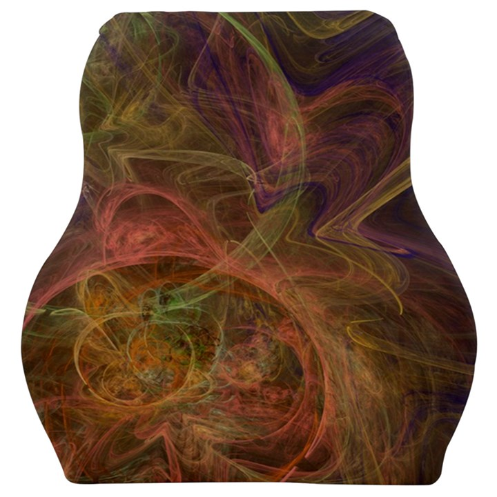 Abstract Colorful Art Design Car Seat Velour Cushion