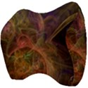 Abstract Colorful Art Design Velour Head Support Cushion View4