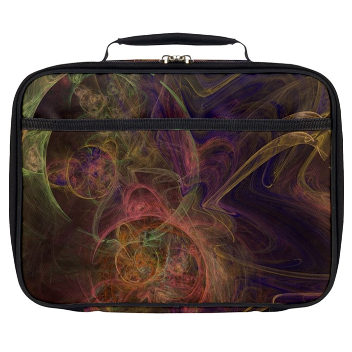 Abstract Colorful Art Design Full Print Lunch Bag