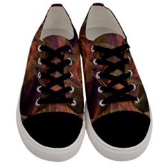 Abstract Colorful Art Design Men s Low Top Canvas Sneakers