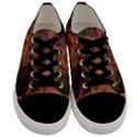 Abstract Colorful Art Design Men s Low Top Canvas Sneakers View1