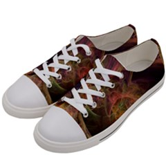 Abstract Colorful Art Design Women s Low Top Canvas Sneakers by Nexatart