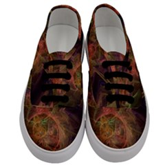 Abstract Colorful Art Design Men s Classic Low Top Sneakers