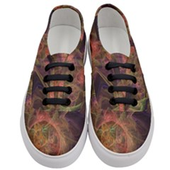 Abstract Colorful Art Design Women s Classic Low Top Sneakers