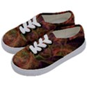 Abstract Colorful Art Design Kids  Classic Low Top Sneakers View2
