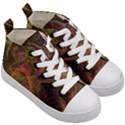 Abstract Colorful Art Design Kid s Mid-Top Canvas Sneakers View3