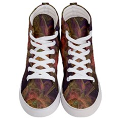 Abstract Colorful Art Design Women s Hi Top Skate Sneakers