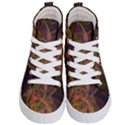 Abstract Colorful Art Design Kid s Hi-Top Skate Sneakers View1