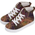 Abstract Colorful Art Design Kid s Hi-Top Skate Sneakers View2