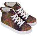 Abstract Colorful Art Design Kid s Hi-Top Skate Sneakers View3
