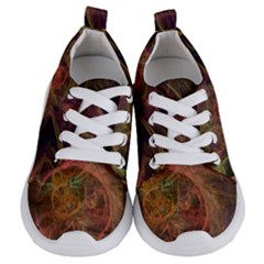 Abstract Colorful Art Design Kids  Lightweight Sports Shoes