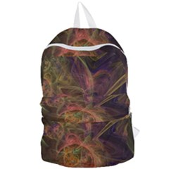 Abstract Colorful Art Design Foldable Lightweight Backpack