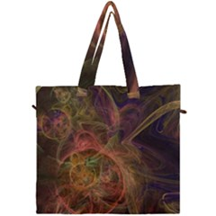 Abstract Colorful Art Design Canvas Travel Bag