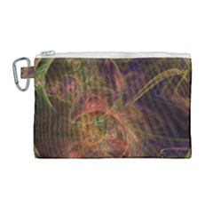 Abstract Colorful Art Design Canvas Cosmetic Bag (large)