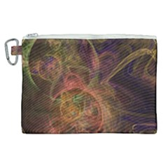 Abstract Colorful Art Design Canvas Cosmetic Bag (xl) by Nexatart