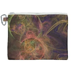 Abstract Colorful Art Design Canvas Cosmetic Bag (xxl)