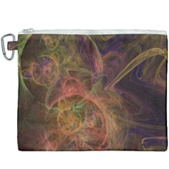 Abstract Colorful Art Design Canvas Cosmetic Bag (xxxl)