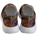 Abstract Colorful Art Design Men s Lightweight Slip Ons View4