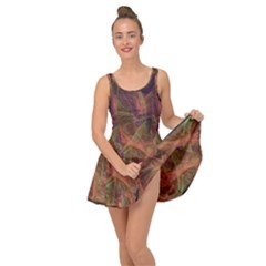Abstract Colorful Art Design Inside Out Casual Dress