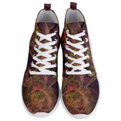 Abstract Colorful Art Design Men s Lightweight High Top Sneakers