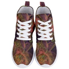 Abstract Colorful Art Design Women s Lightweight High Top Sneakers