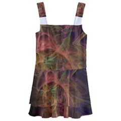 Abstract Colorful Art Design Kids  Layered Skirt Swimsuit by Nexatart