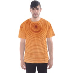 Rings Wood Line Men s Sports Mesh Tee