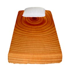 Rings Wood Line Fitted Sheet (single Size)