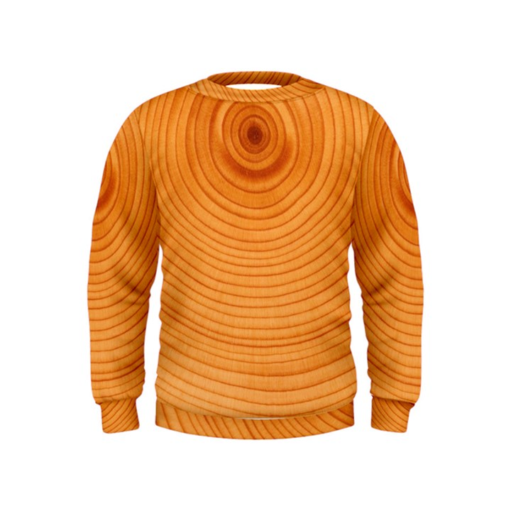 Rings Wood Line Kids  Sweatshirt