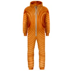 Rings Wood Line Hooded Jumpsuit (men)
