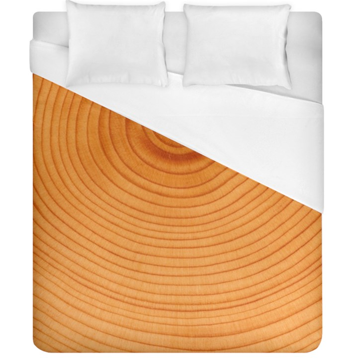 Rings Wood Line Duvet Cover (California King Size)