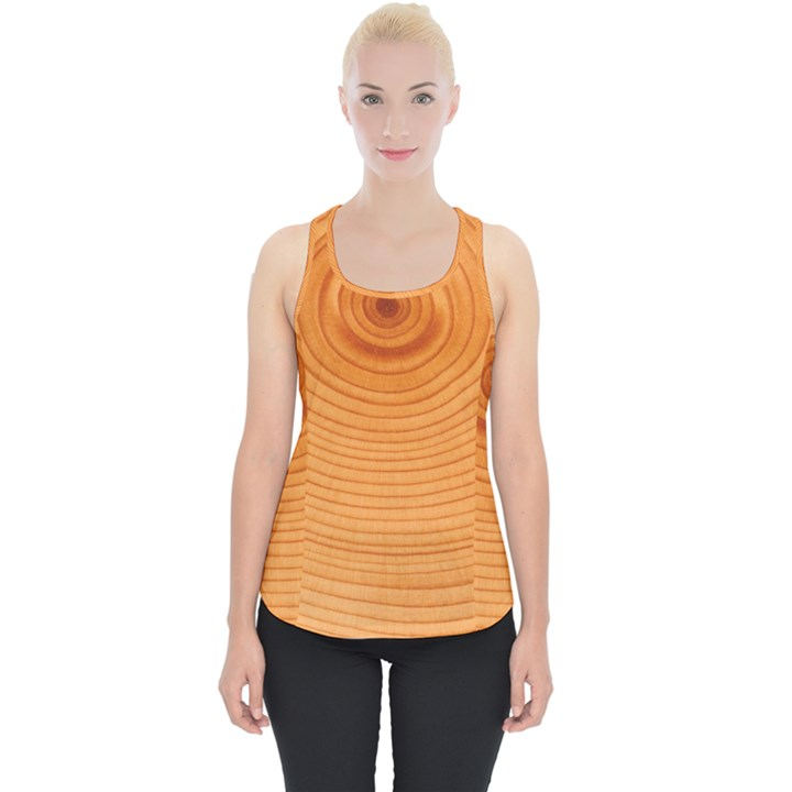 Rings Wood Line Piece Up Tank Top