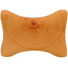 Rings Wood Line Seat Head Rest Cushion by Alisyart