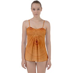 Rings Wood Line Babydoll Tankini Set