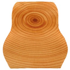 Rings Wood Line Car Seat Back Cushion