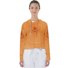 Rings Wood Line Women s Slouchy Sweat