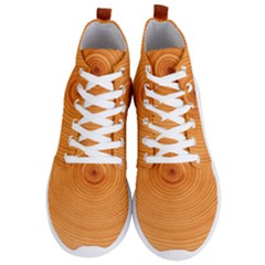 Rings Wood Line Men s Lightweight High Top Sneakers