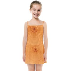 Rings Wood Line Kids Summer Sun Dress