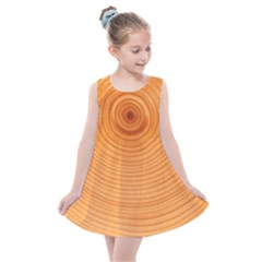 Rings Wood Line Kids  Summer Dress