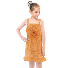 Rings Wood Line Kids  Overall Dress