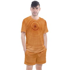 Rings Wood Line Men s Mesh Tee And Shorts Set