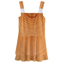 Rings Wood Line Kids  Layered Skirt Swimsuit